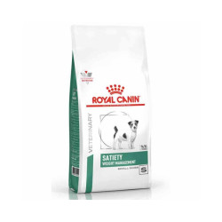 Croquettes Royal Canin Veterinary Diet Satiety Small pour chiens