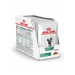 Royal Canin Veterinary Diet Satiety Support Weight Management pour chats Emincés 12 sachets 85 g