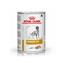 Royal Canin Veterinary Diet Urinary S/O pour chiens 12 Boîtes 410 g