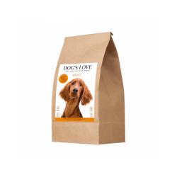 Croquettes sans céréales Dog's Love à la dinde pour chien - Sac 2 kg