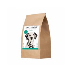 Croquettes sans céréales Dog's Love au canard pour chien - Sac 2 kg