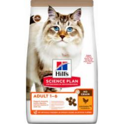 Croquettes sans céréales Hill's pour chat adulte au Poulet - Sac 1,5 kg
