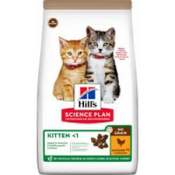 Croquettes sans céréales Hill's pour chaton au Poulet - Sac 1,5 kg