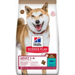 Croquettes sans céréales Hill's pour chien adulte Medium au Thon - Sac 14 kg
