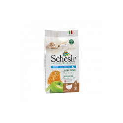 Croquettes sans céréales Natural Selection Schesir à la Dinde pour chiot - Sac 2,24 kg