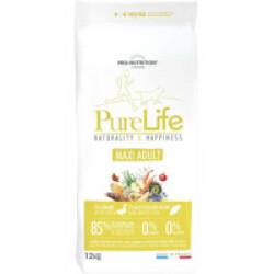 Croquettes sans céréales pour chien Maxi Adult Pure Life Flatazor Pro Nutrition Sac 12 kg