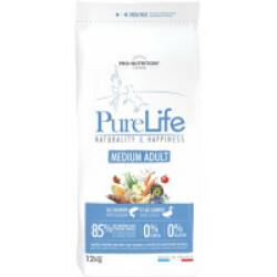 Croquettes sans céréales pour chien Medium Adult Pure Life Flatazor Pro Nutrition Sac 12 kg