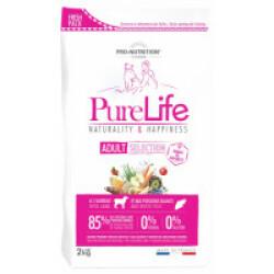 Croquettes sans céréales pour chien Pure Life Adult Flatazor Pro Nutrition à l'agneau