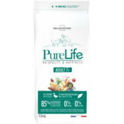 Croquettes sans céréales Pure Life Adult 7+ Flatazor Pro Nutrition pour chien mature Sac 12 kg
