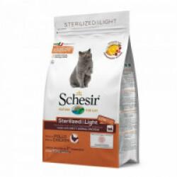 Croquettes Schesir Sterilized & Light pour chat adulte Sac 1,5 kg