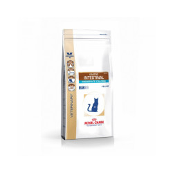 Croquettes Royal Canin Veterinary Diet Gastro Intestinal Moderate Calorie pour chats Sac 2 kg