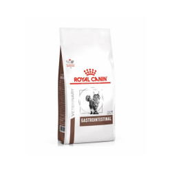 Croquettes Royal Canin Veterinary Diet Gastro Intestinal pour chats Sac 400 g
