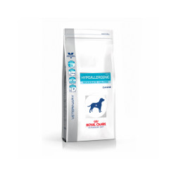Croquettes Royal Canin Veterinary Diet Hypoallergenic Moderate Calorie pour chiens Sac 1,5 kg