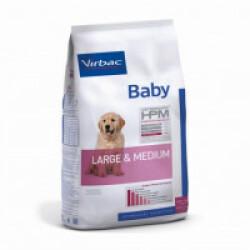 Croquettes Virbac HPM Baby Large & Medium pour chien