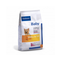 Croquettes Virbac HPM Baby Small & Toy pour chien