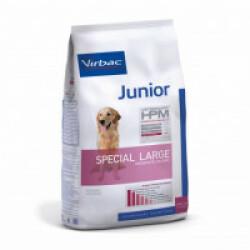 Croquettes Virbac HPM Junior Special Large pour chien