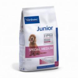 Croquettes Virbac HPM Junior Special Medium pour chien