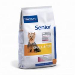 Croquettes Virbac HPM Senior Small & Toy pour chien