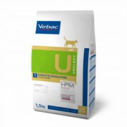 Croquettes Virbac HPM Urology Struvite Dissolution pour chat
