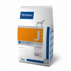 Croquettes Virbac pour chien Vet HPM J Joint & Mobility Sac 3 kg
