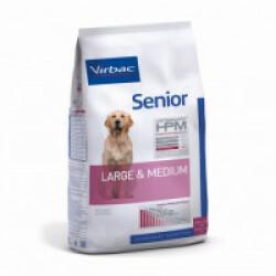 Croquettes Virbac Senior Large & Medium pour chien