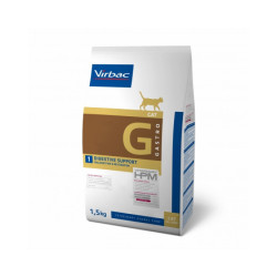 Croquettes Virbac Veterinary HPM Gastro Digestive Support pour chats