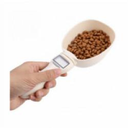 Cuillère balance électronique pour croquettes