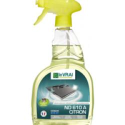 Dégraissant désinfectant Alimentaire ND 610 A Citron Le Vrai