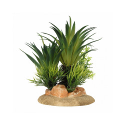 Décoration pour aquarium plante sagoutier en résine Aqua Della - Taille S