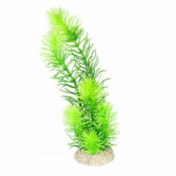 Décoration pour aquarium plante artificielle verte - Taille M