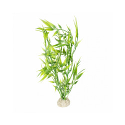 Décoration pour aquarium plante bambou flexible - Taille M