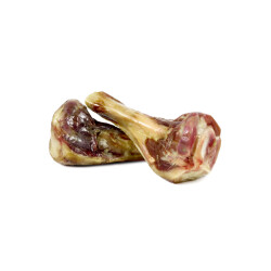 Demi os de jambon Serrano d'Espagne pour chien - 2 pièces