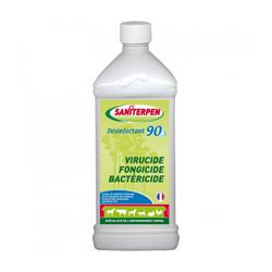 Désinfectant 90 Saniterpen Virucide Fongicide Bactéricide