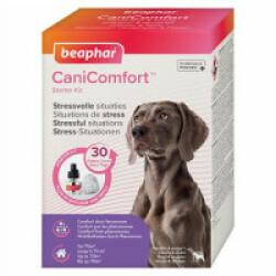 Diffuseur calmant CaniComfort aux phéromones pour chien et chiot - Diffuseur + Recharge 48 mL