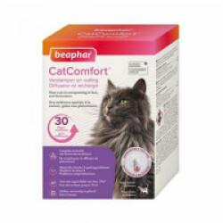 Diffuseur CatComfort calmant aux phéromones pour chats et chatons - Diffuseur + Recharge 48 mL