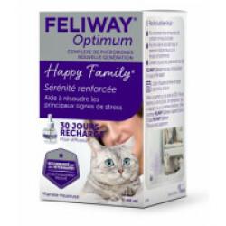 Recharge pour diffuseur de phéromone FELIWAY Optimum - Recharge de 48 mL (30 jours)