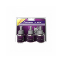 Pack de 3 recharges Feliway Classic 48 ml