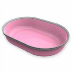 Écuelle 1 compartiment 420 ml rose pour distributeur Surefeed