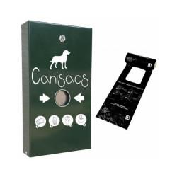 Distributeur CANISACS pour déjections canines + 500 sacs à bretelles