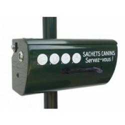 Distributeur rouleau pour sacs de déjections canines - Modèle Simple