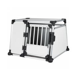 Cage de transport en voiture pour 1 ou 2 chiens Dog Box Autolux™ T190
