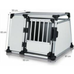 Cage de transport en voiture pour 1 ou 2 chiens Dog Box Autolux™ T360