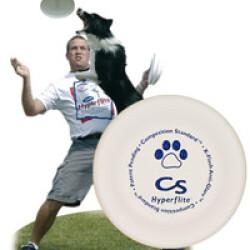 Dogfrisbee compétition pour chien 18 cm 70 gr Blanc