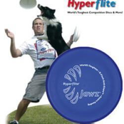 Dogfrisbee d'entraînement Jaws pour chien diamètre 23cm