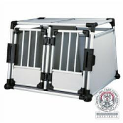 Double box de transport en aluminium