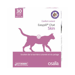 Easypill Skin Chat Confort cutané - 30 boulettes