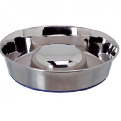 Ecuelle anti glouton Inox Durapet SF pour chien 2.2 L