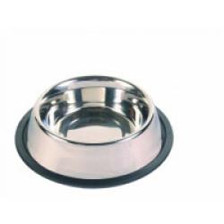 Ecuelle en acier inox anti-dérapante lourde Trixie pour chiens
