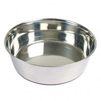 Ecuelle en acier inox anti-dérapante Trixie pour chiens