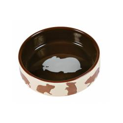 Ecuelle en céramique avec motifs pour hamsters Trixie